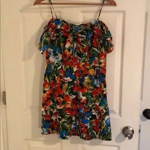 NWT colorful mini dress.
